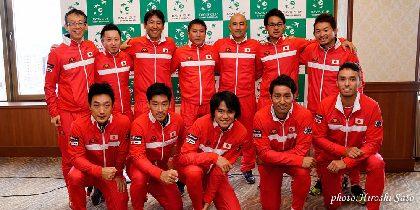 エース杉田は2日に世界ランキング78位と対戦! デビスカップの試合順が決定