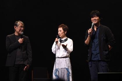 クミコ 最新シングル曲の作詞作曲を担当した松本 隆、秦 基博がコンサートに参加