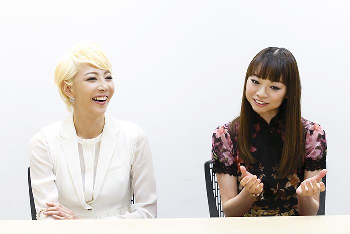 (左から)柚希礼音、上野水香 (写真撮影:中田智章)
