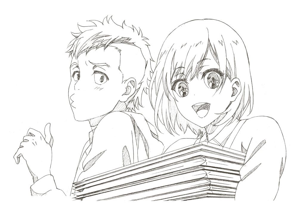 原画 (c)「SHIROBAKO」製作委員会