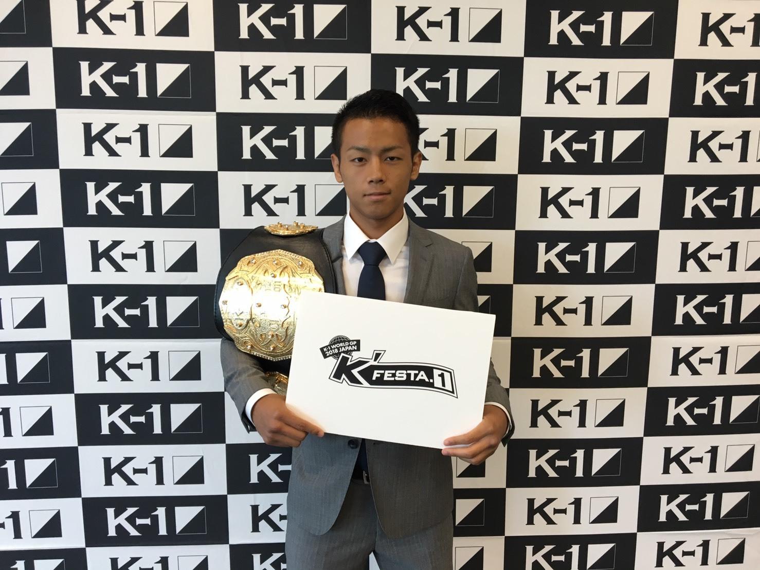 武居由樹 (C)M-1 Sports Media