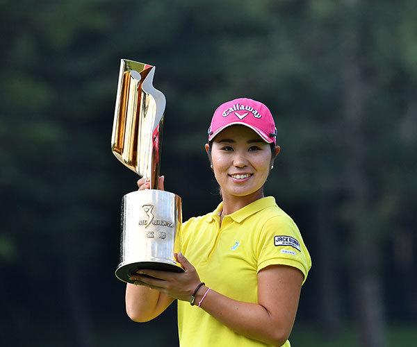 昨年、4季ぶりに復活優勝を飾った比嘉真美子。『全英リコー女子オープンゴルフ』でも堂々の4位入賞で、今大会の連覇の期待もかかっている