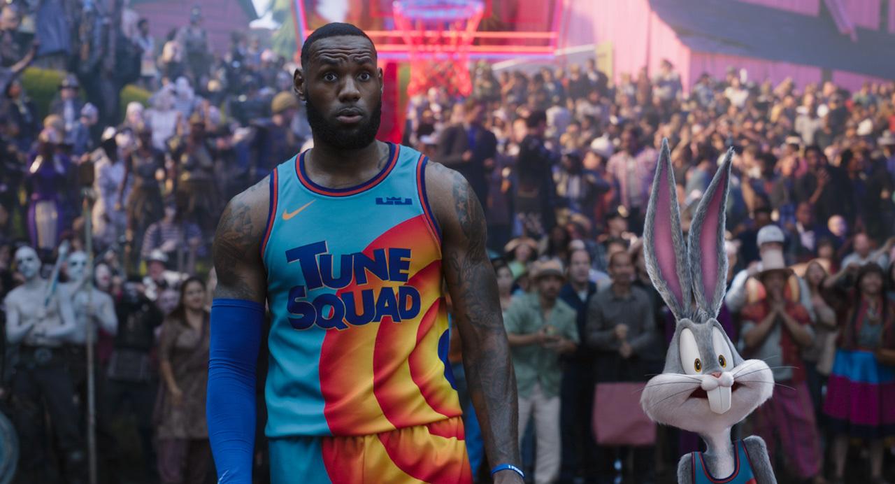 映画『スペース・プレイヤーズ』 (C)2021 Warner Bros. Entertainment Inc. All Rights Reserved.