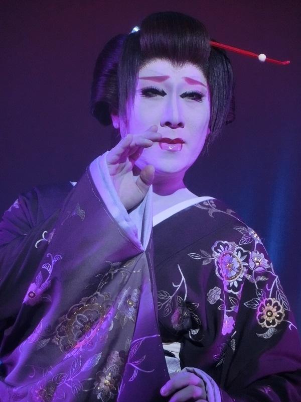 劇団KAZUMA・冴刃竜也副座長(2015/6/21) 筆者撮影