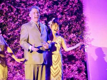 綿引さやか出演、LAハリウッドボウル「美女と野獣」イン・コンサートのステージ写真を公開