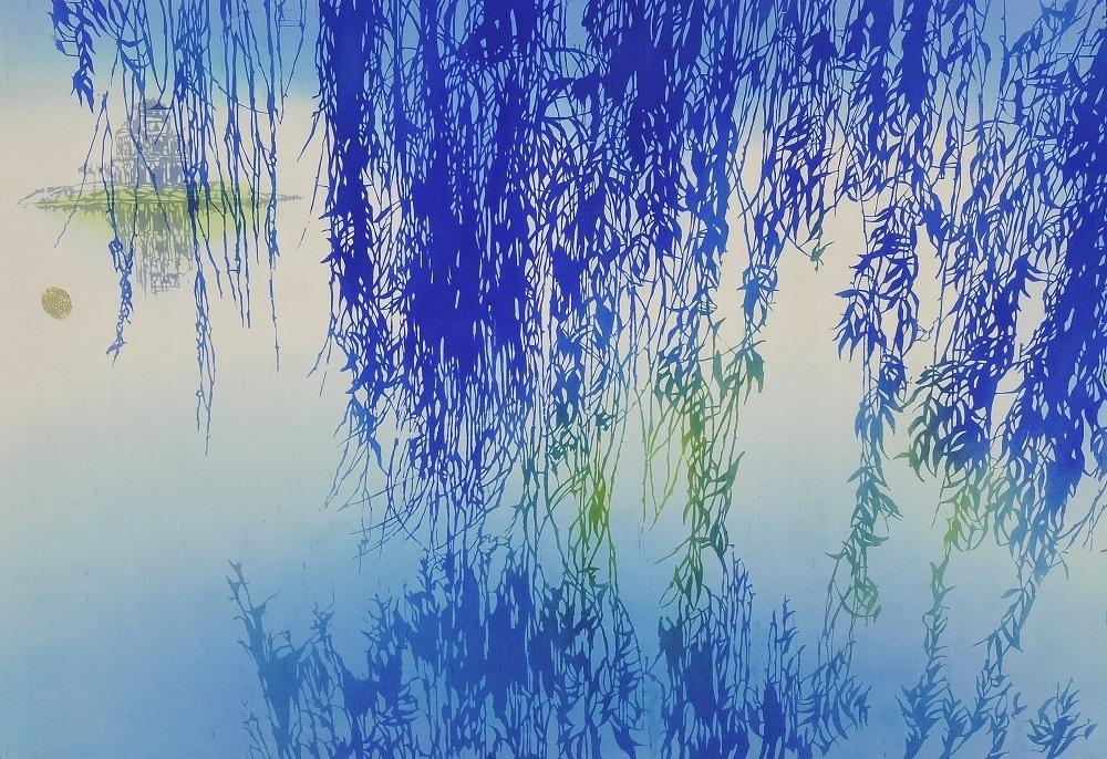 ギャラリー長谷川 伝説の湖 鳥羽 美花