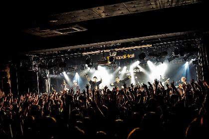 SANABAGUN.初のマンスリー企画『2013-2018』大阪編 レア曲披露連発の「Danger Blue」の夜に見えた、バンドの現在形
