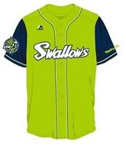 4月18日はこの緑のユニフォームを着て、スワローズに力を与えたい
