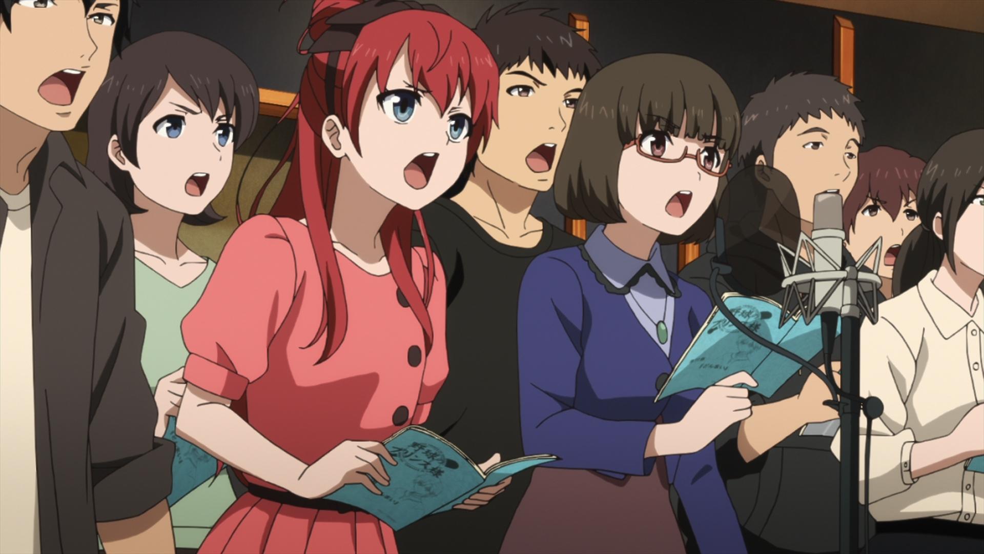 坂木しずか (c)「SHIROBAKO」製作委員会