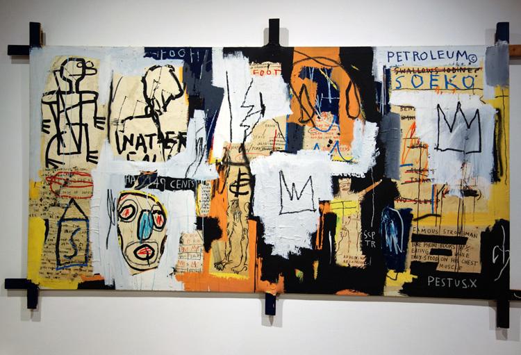 ジャン=ミシェル・バスキア Fooey, 1982, The Museum of Art, Kochi Artwork  (C) Estate of Jean-Michel Basquiat. Licensed by Artestar, New York