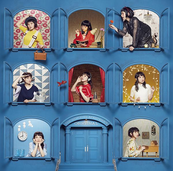 『南條愛乃 ベストアルバム THE MEMORIES APARTMENT-Original-』通常盤ジャケットデザイン