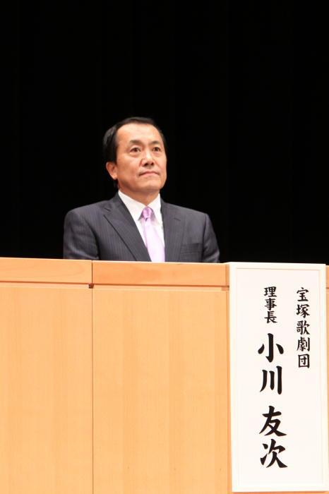 小川友次理事長