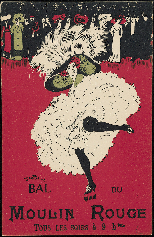 シャルル・ナイヨ《ダンスする女性シリーズ<ムーラン・ルージュの舞踏会>より》1905年 Collection of Leonard A. Lauder