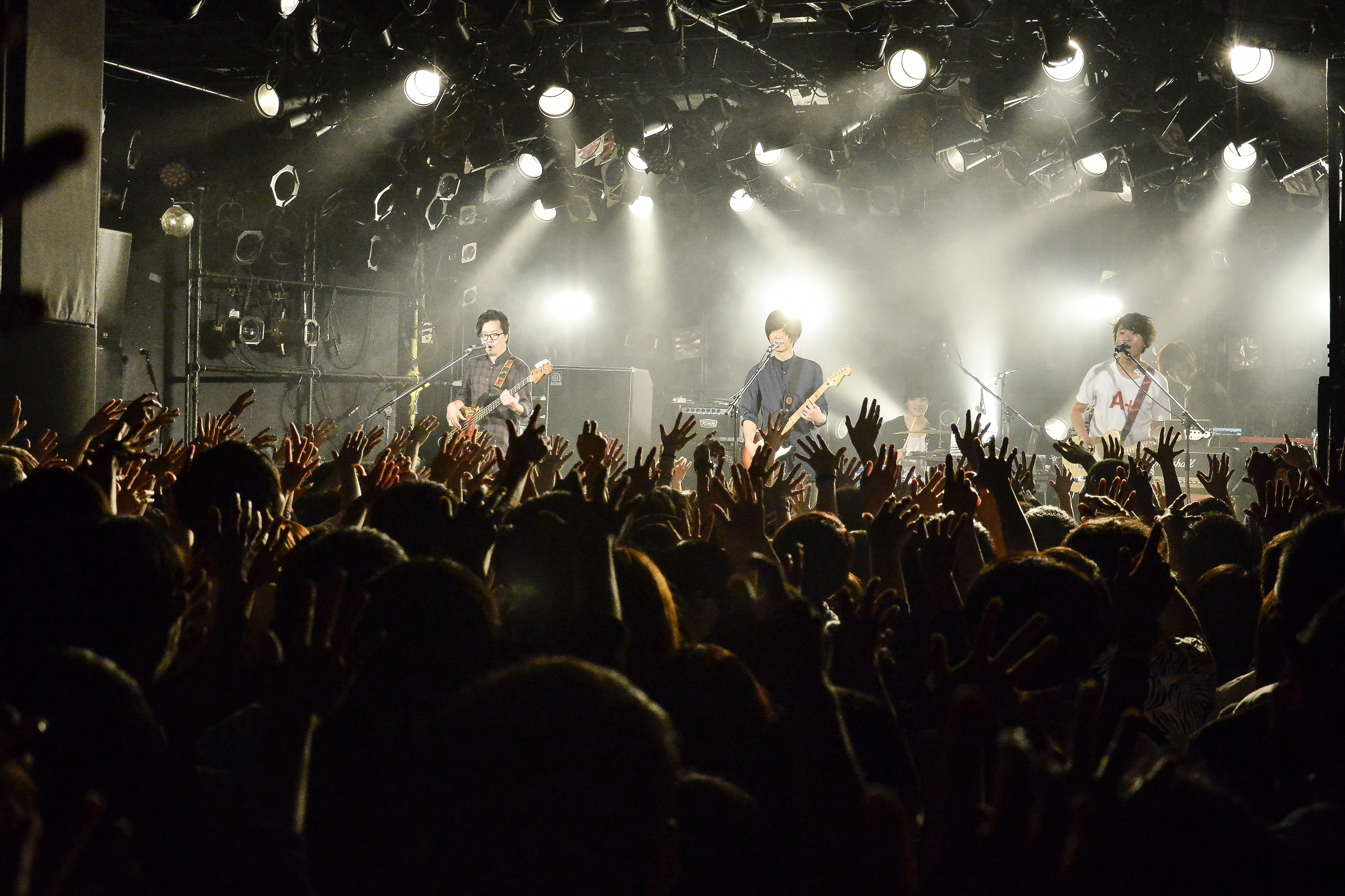 "『androp presents "" A+ ""』ファイナル東京・SHIBUYA CLUB QUATTRO公演 撮影=Rui Hashimoto (SOUND SHOOTER)"