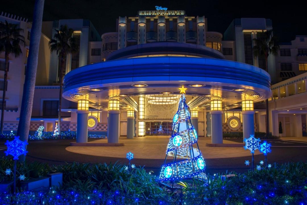 """ディズニーアンバサダーホテル """"クリスマス・ファンタジー""""イルミネーション ※イメージ (C)Disney"""
