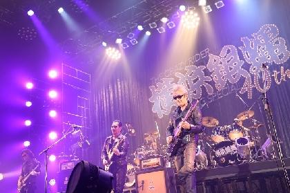 横浜銀蝿40th、ZEPP TOKYOツアーファイナルにて新旧合わせた名曲18曲を披露 新たにファイナルツアー&FCツアーの開催を発表