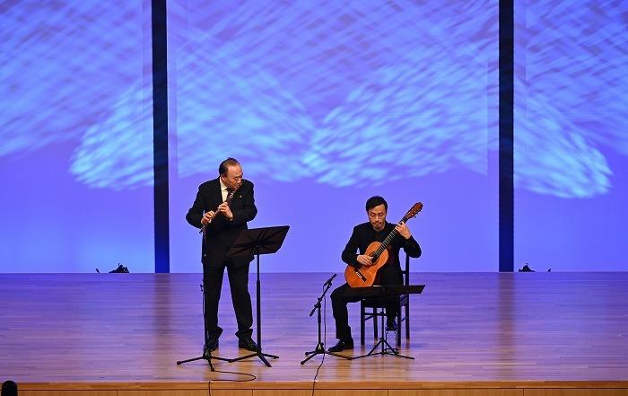 フルートとギターによるピアソラ 「ブエノスアイレスの四季<冬>・<春>」