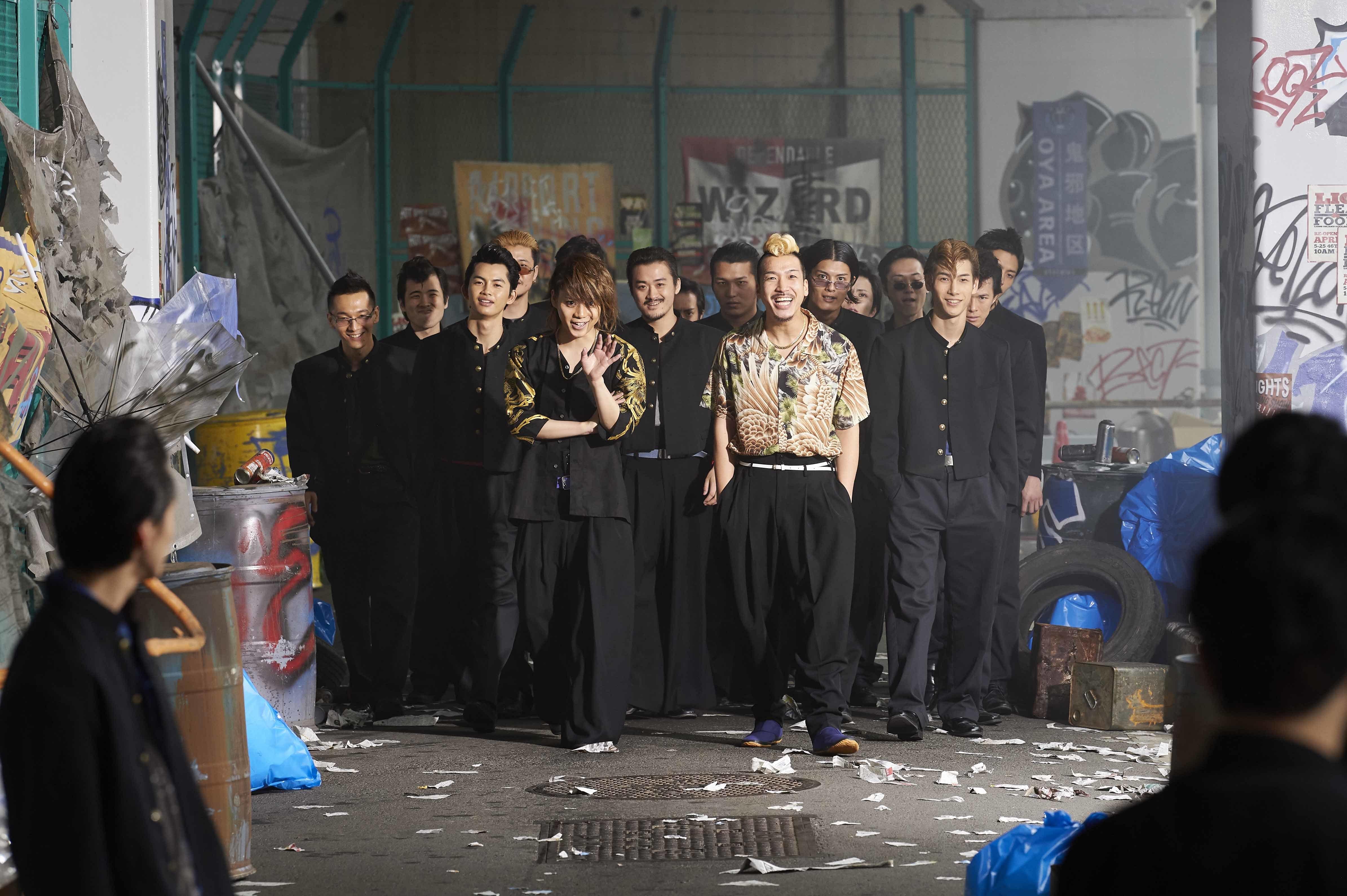 泰志(佐藤流司)・清史(うえきやサトシ)が率いる泰・清一派