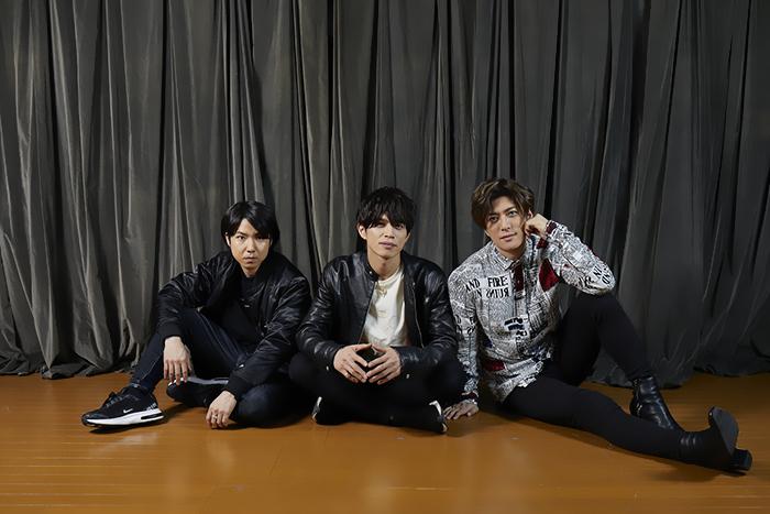 (左から)桑野晃輔、山本裕典、君沢ユウキ