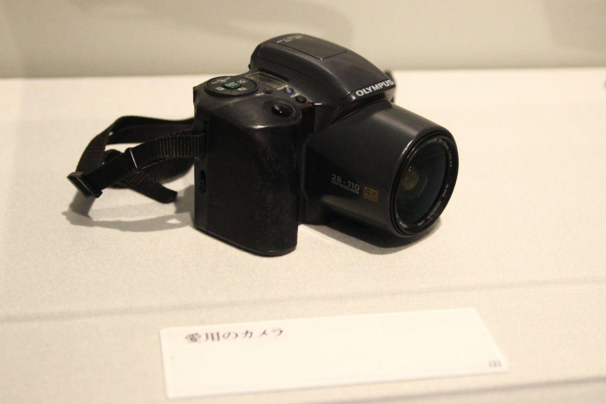 愛用のカメラ ⓒ水木プロダクション