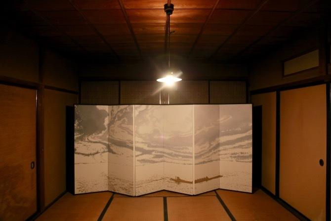 《信濃川》南条嘉毅(水と土の芸術祭2012展示作品の再構成展示)