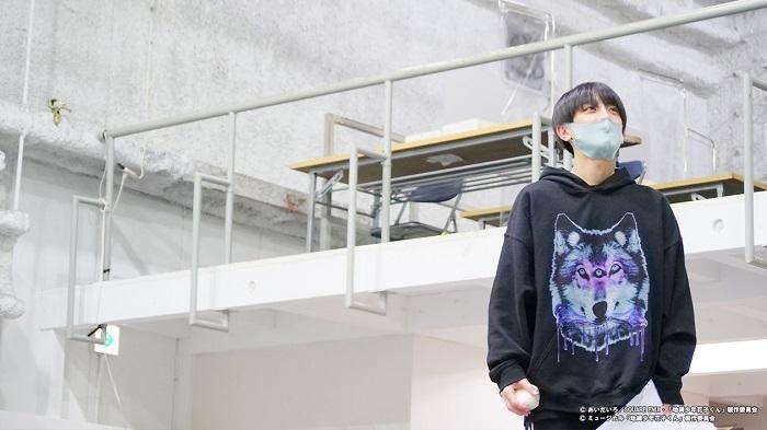 小西詠斗 (C)あいだいろ/SQUAREENIX・「地縛少年花子くん」製作委員会(C)ミュージカル「地縛少年花子くん」製作委員会