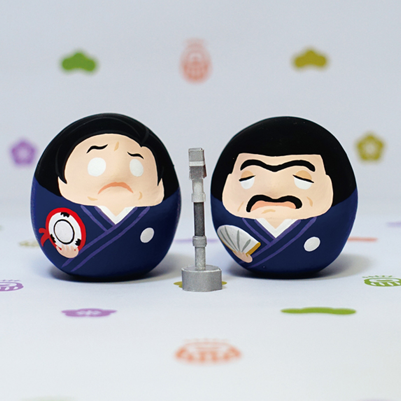 【オンライン受注販売】『笑コロだるま』 価格:各¥900+税