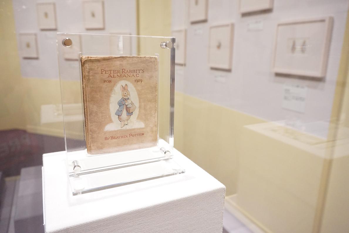 ビアトリクス・ポター 『ピーターラビットの暦:1929』 英国ナショナル・トラスト所蔵