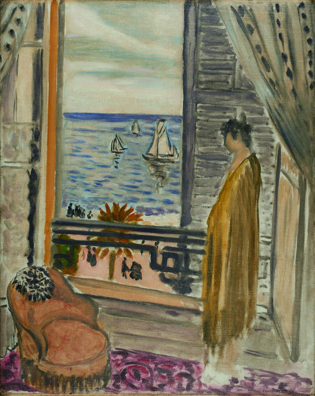 アンリ・マティス《窓辺の女》1920年 みぞえ画廊