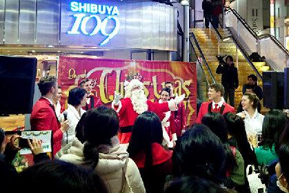 『ブロードウェイ クリスマス ワンダーランド』出演者によるスペシャルミニライブを開催!