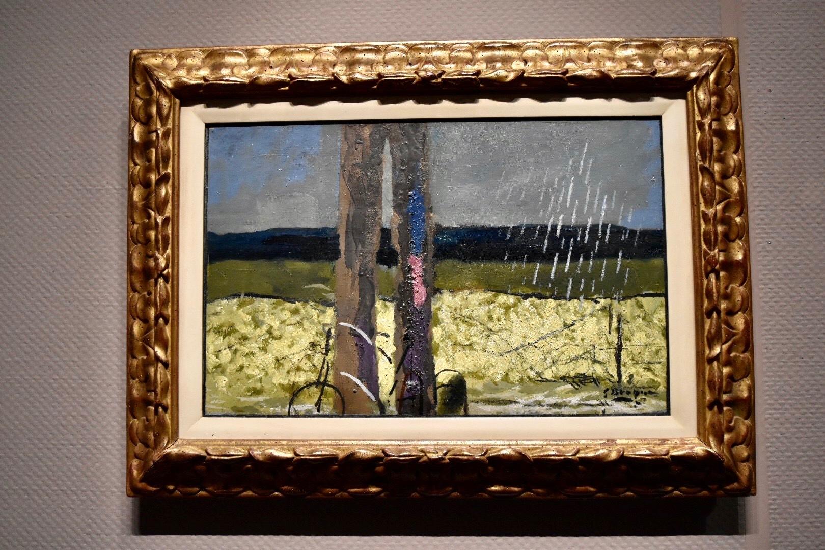 展示風景:ジョルジュ・ブラック 《驟雨》 1952年