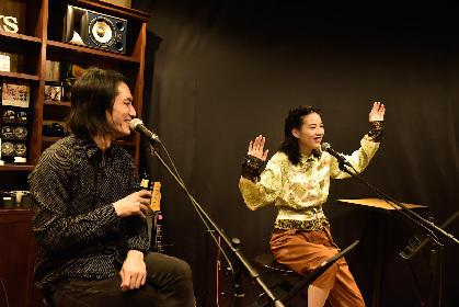 モーサム・百々和宏主催のトーク&ライブイベント のんをゲストに迎えたvol.25のレポート到着