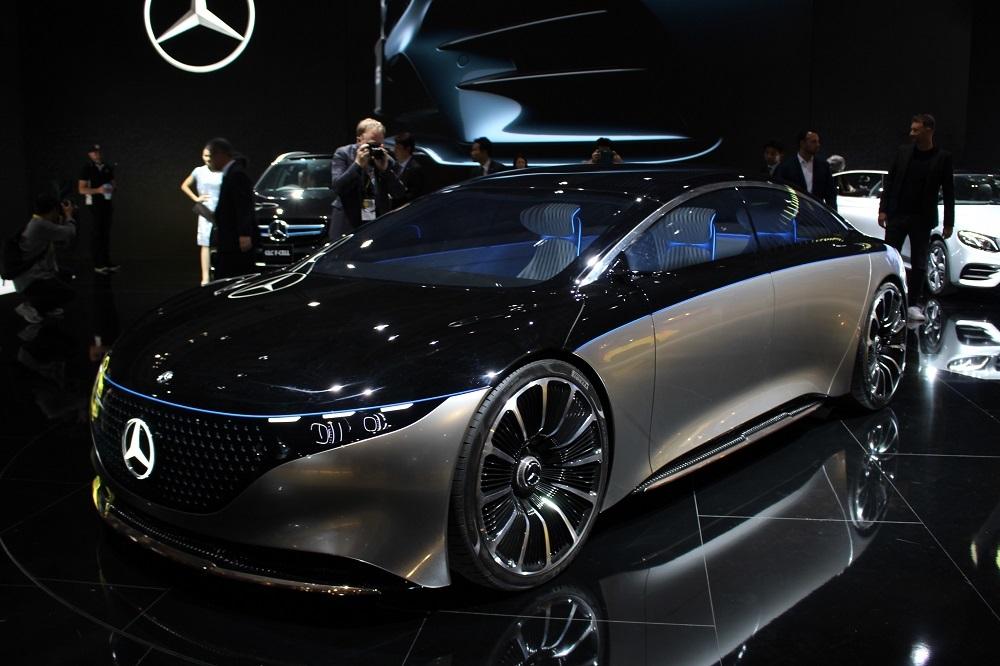 メルセデス・ベンツの電気自動車(EV)「EQS(Vision EQS)」