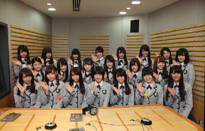 「欅坂46のオールナイトニッポン」放送決定