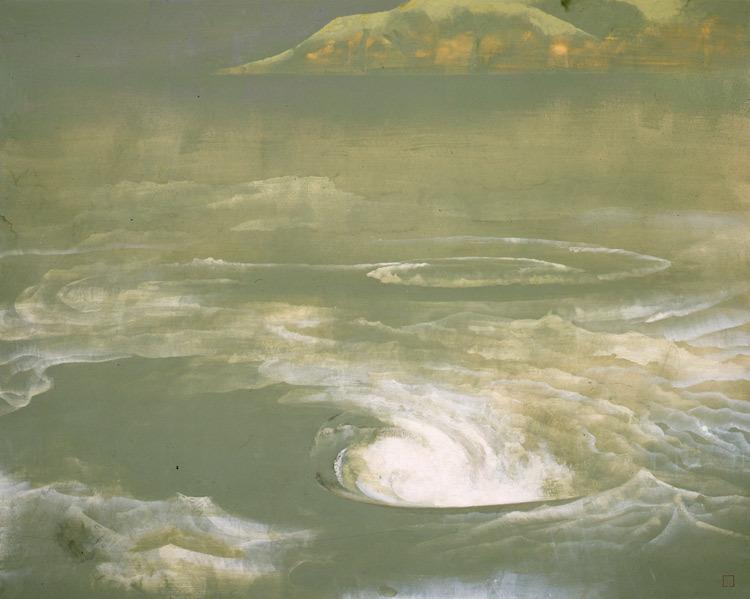 奥村土牛《鳴門》1959(昭和34)年 山種美術館