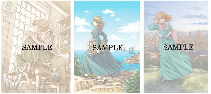 販売グッズ/オリジナルポストカード3種類
