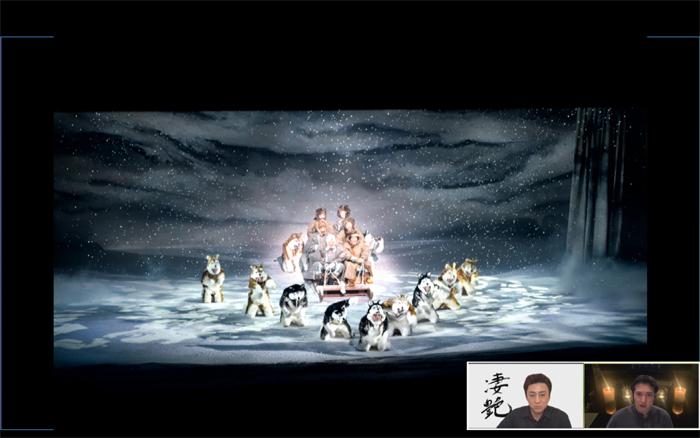 『三谷かぶき 月光露針路日本 風雲児たち』舞台写真  提供:松竹