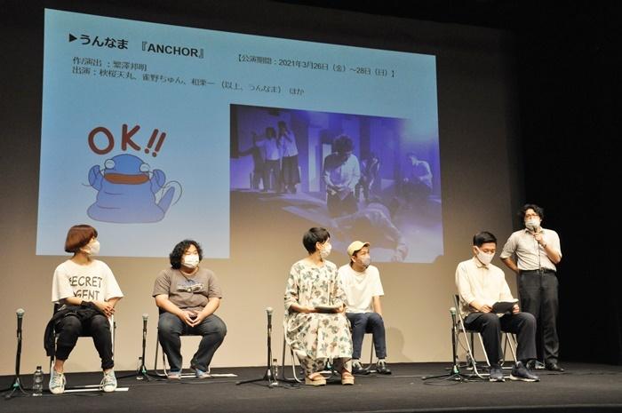 「KAVC FLAG COMPANY 2020-2021」参加劇団代表者たち。