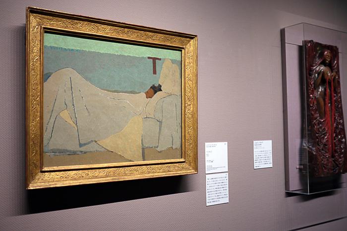 エドゥアール・ヴュイヤール《ベッドにて》1891年│オルセー美術館