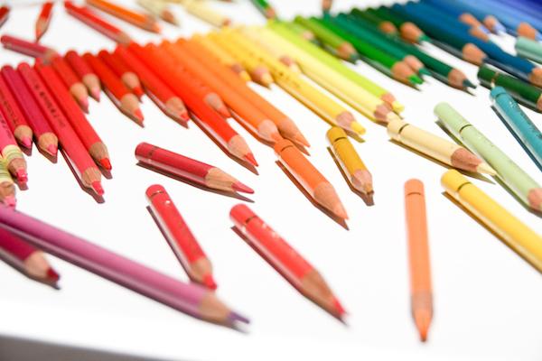 愛用したファーバーカステル製の色鉛筆