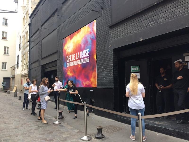 パリのライブ会場「Café de la Danse」