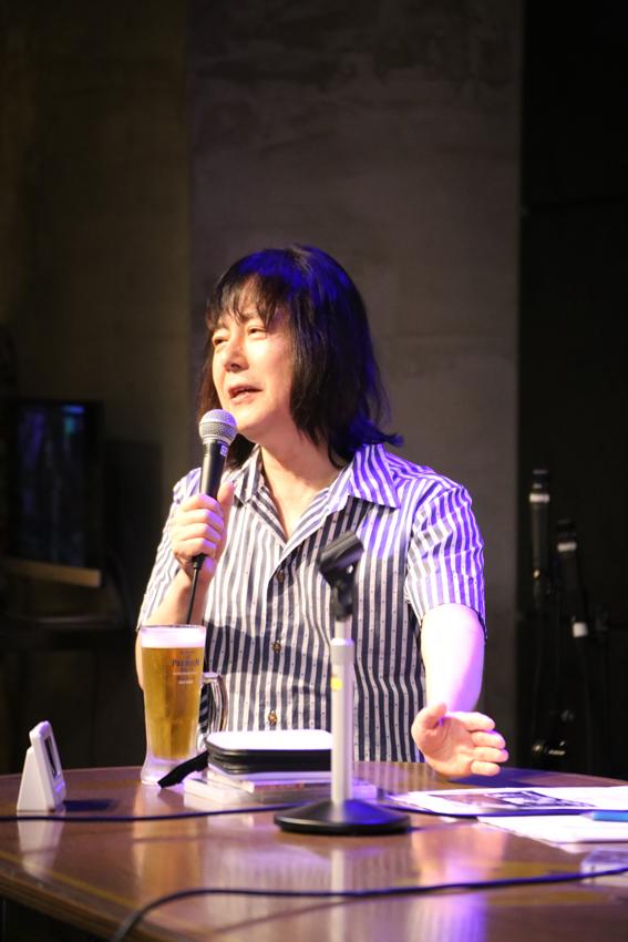 プロデビュー40周年を迎えた難波弘之氏 (撮影:飯盛 大)