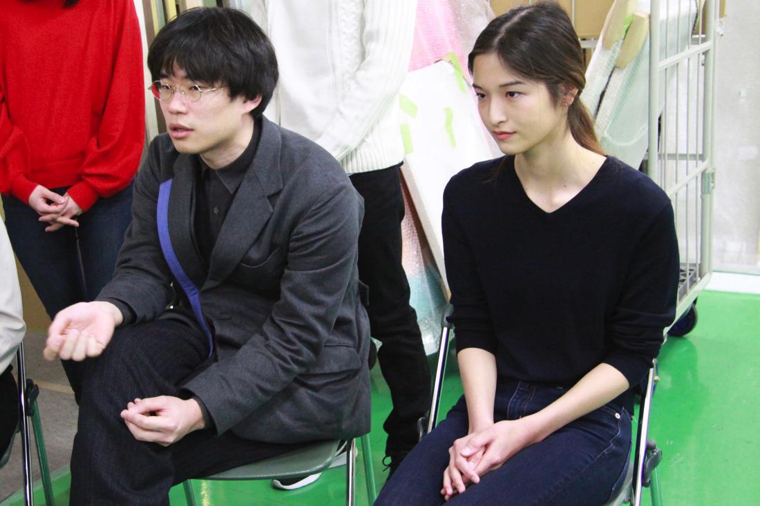 (左から)内海潤也、森本真梨子