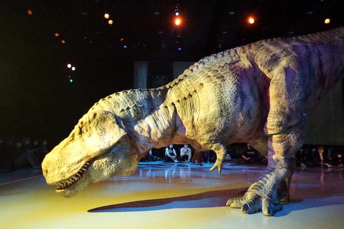 生態系の頂点、ティラノサウルス
