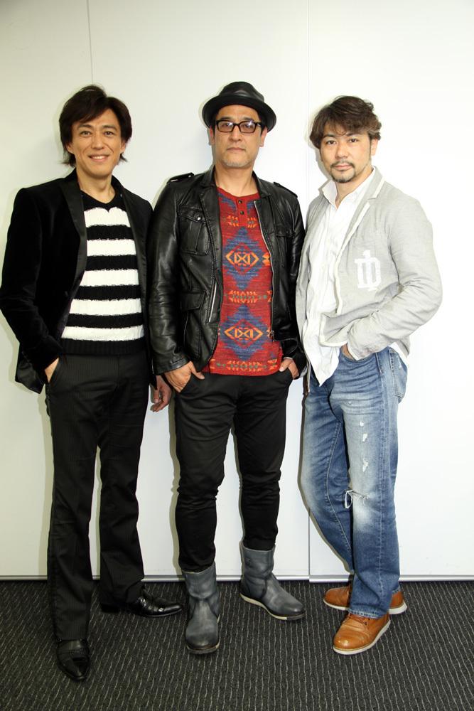 石井一孝、橋本さとし、岸祐二 cube三銃士「Mon STARS Concert ~Returns~」