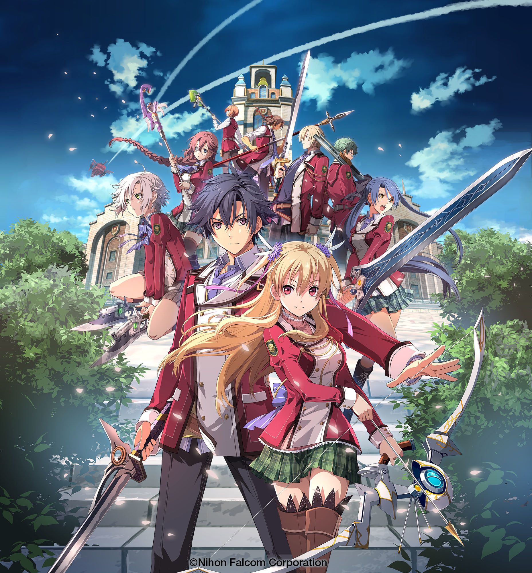 『英雄伝説 閃の軌跡』 (C)Nihon Falcom Corporation / (C)The Legend of Heroes Musical Partners