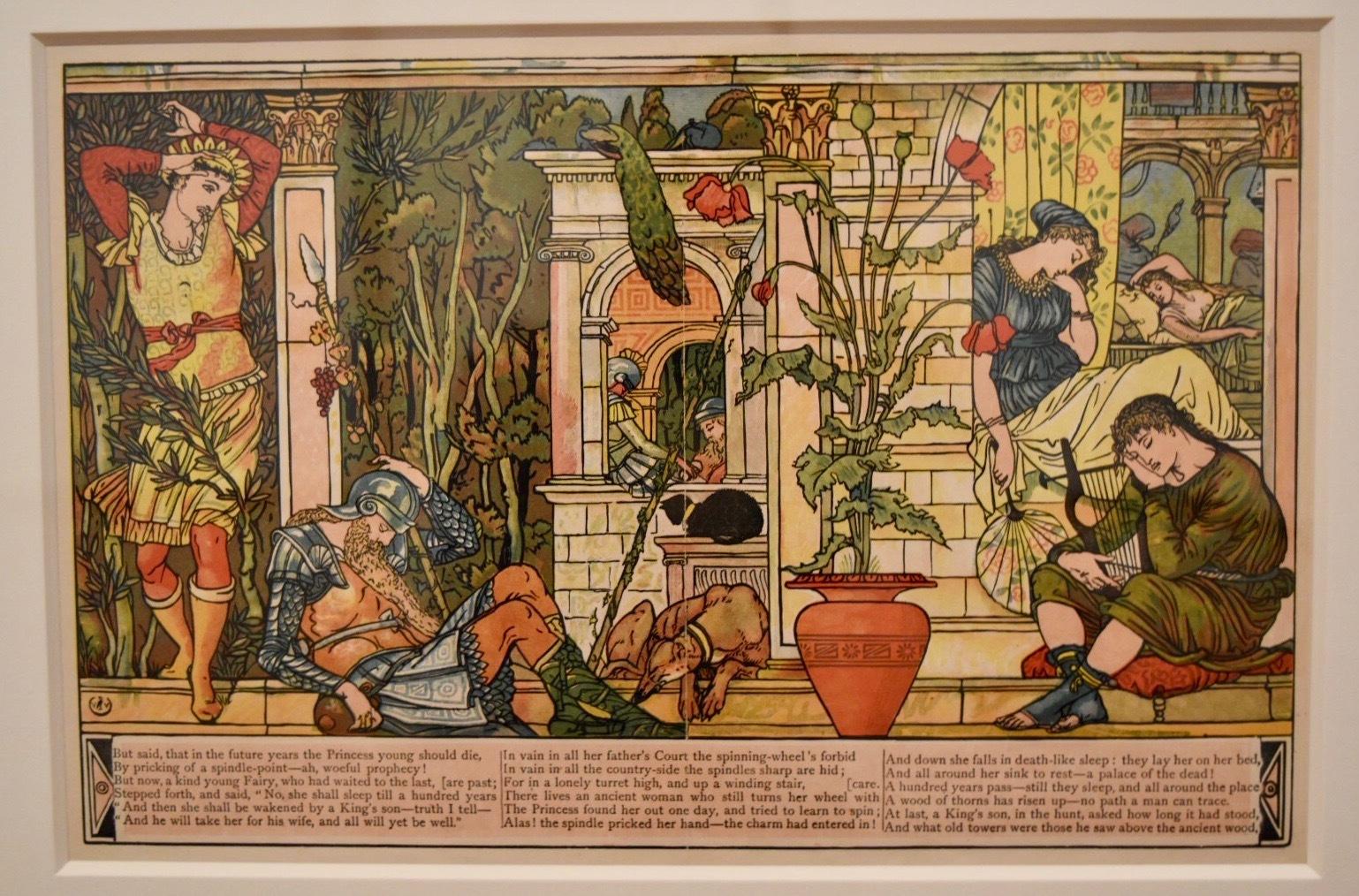 ウォルター・クレインの本の仕事』展をレポート 絵本のデザインに目を ...