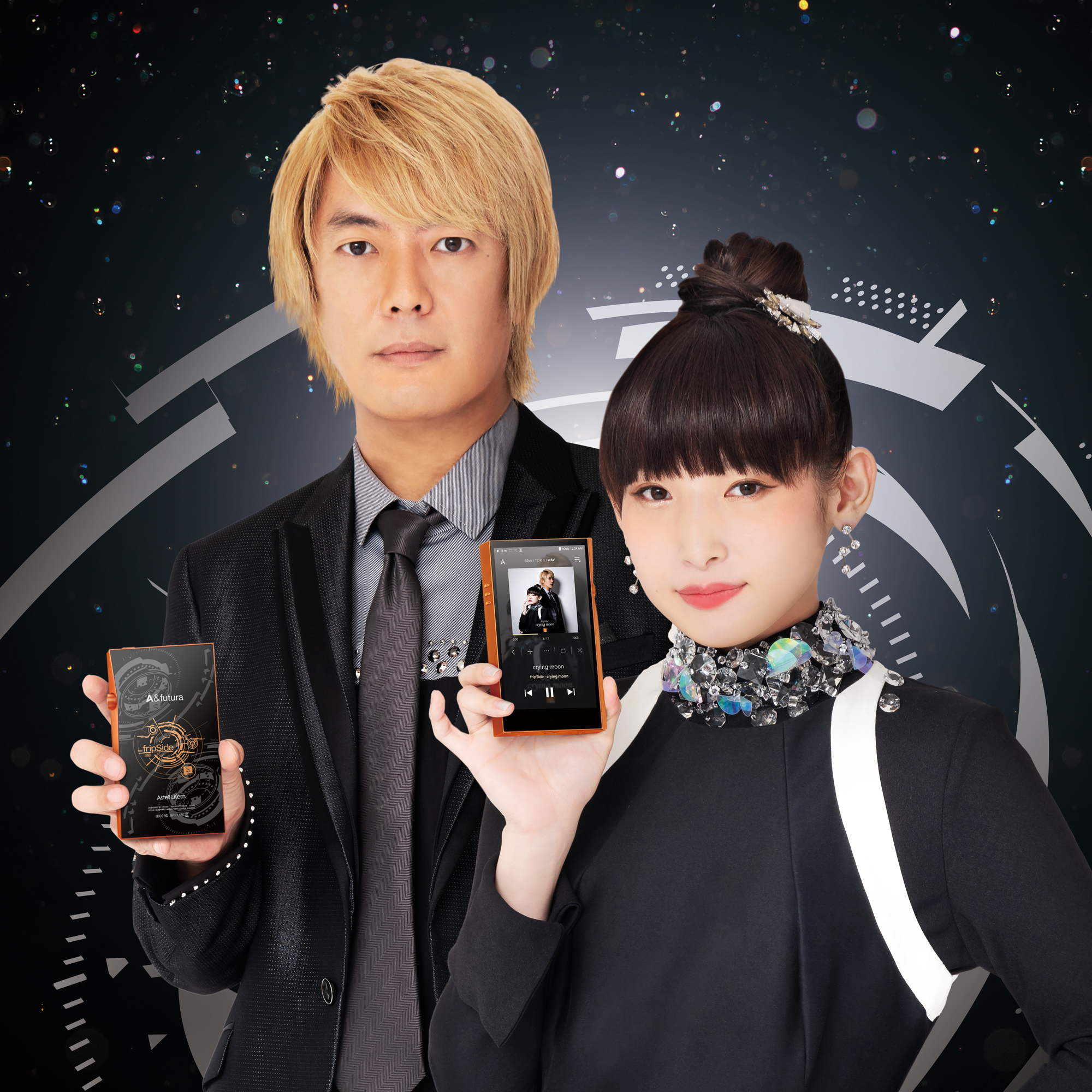 「fripSide」とのコラボハイレゾプレーヤー『A&futuraSE100 fripSide Edition』