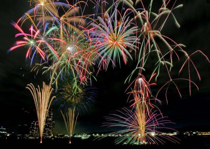 『川崎市制記念第78回多摩川花火大会』