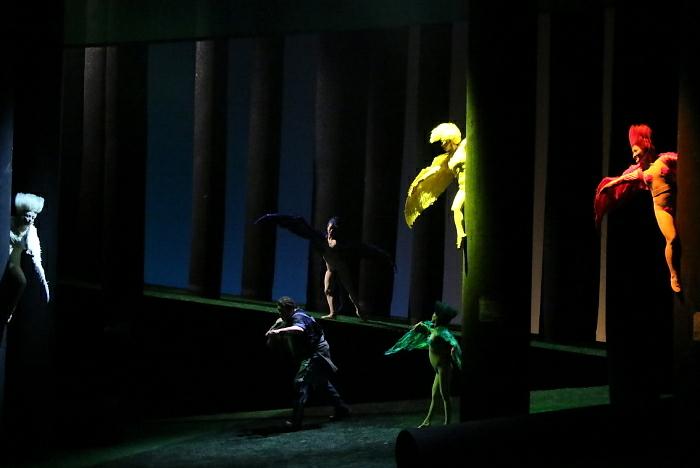 新国立劇場オペラ『ジークフリート』ゲネプロより 森の小鳥、ジークフリート
